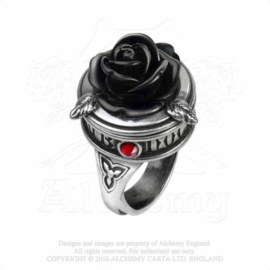 jewellery asp pagan p moon alchemy pewter ring gothic rings goddess triple